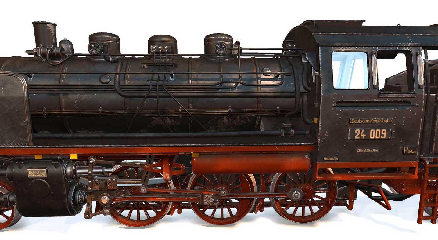 Animated AR Locomotive 6