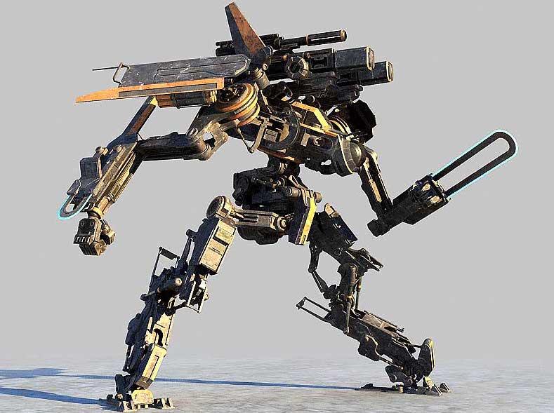 Animated AR Mechanical Robots 6
