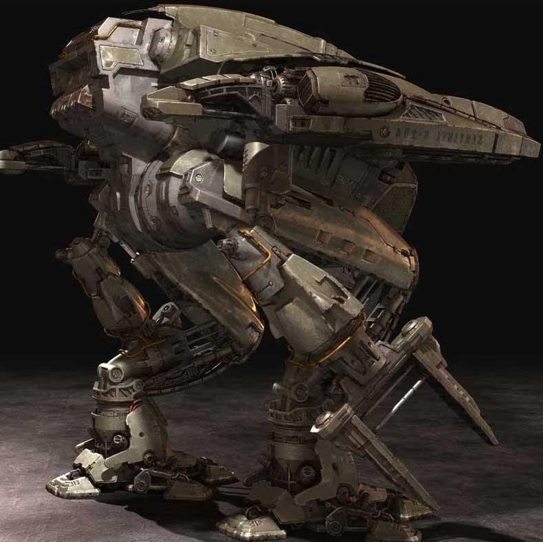 Animated AR Mechanical Robots 1