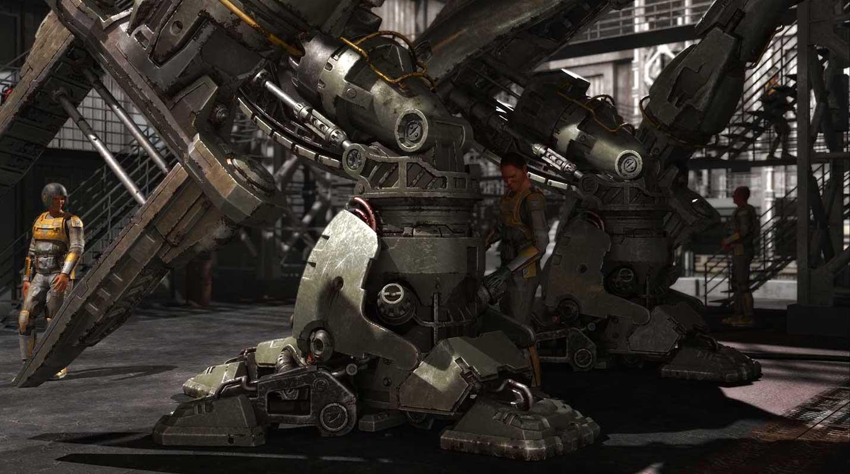 Animated AR Mechanical Robots 5