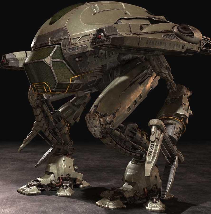 Animated AR Mechanical Robots 3