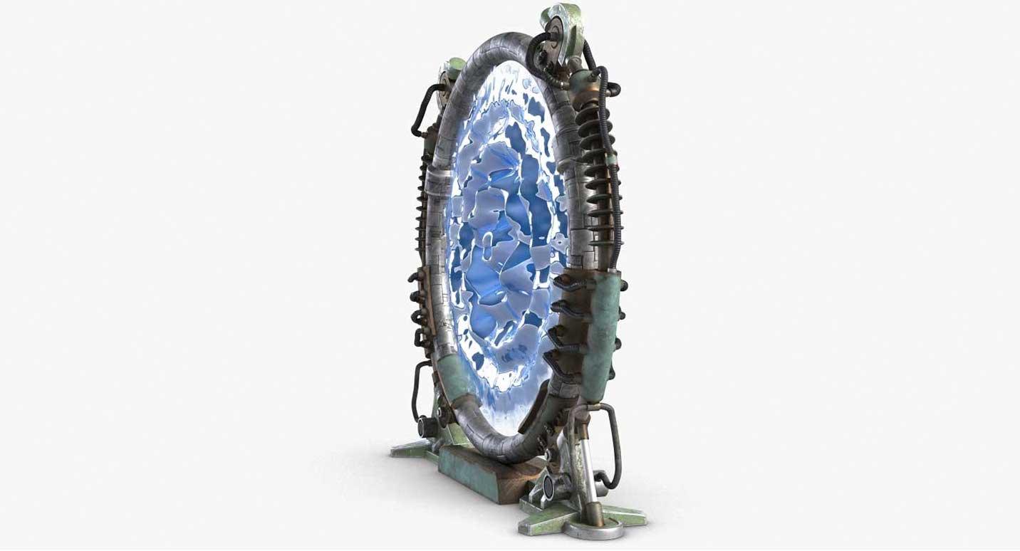 Animated AR Portal 2