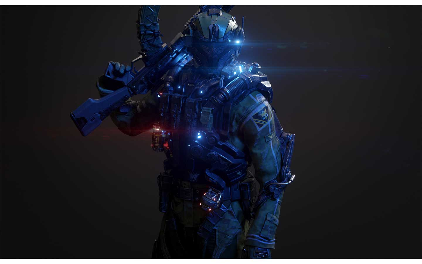 Animated AR Sci-Fi Soldier Character 1