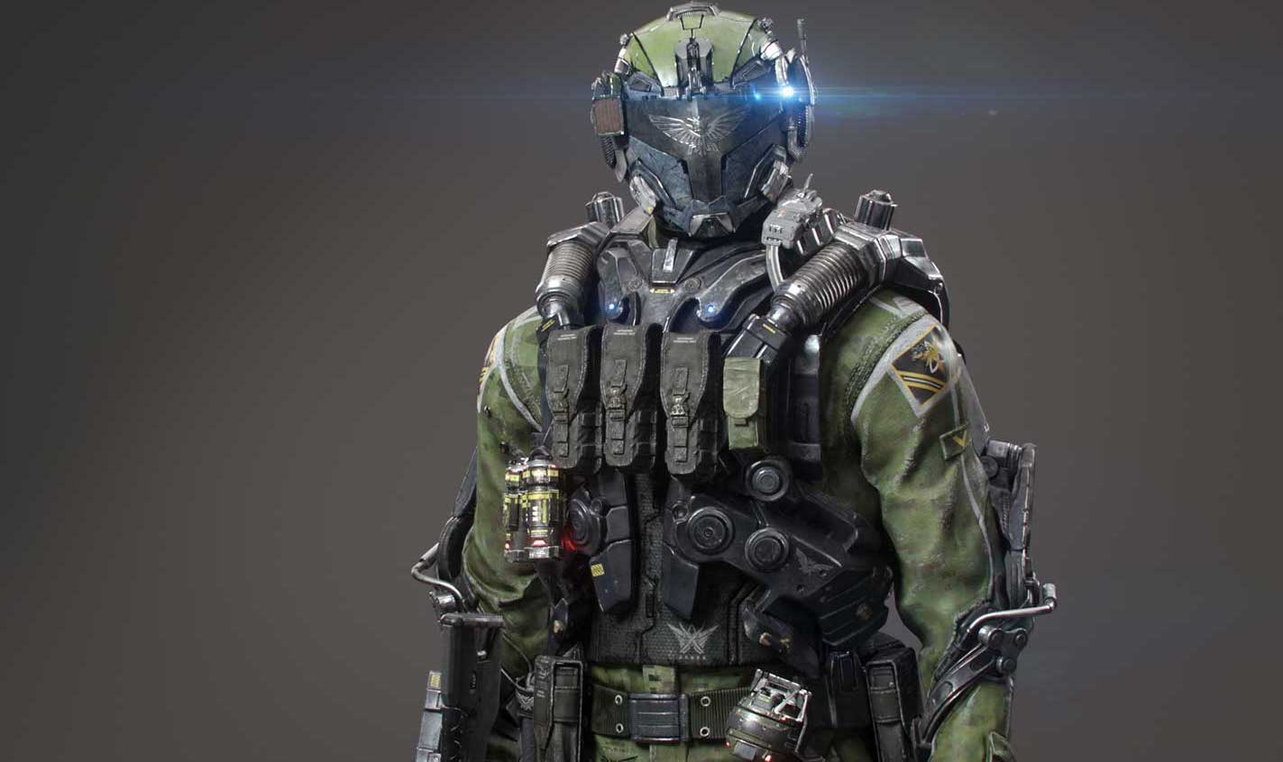 Animated AR Sci-Fi Soldier Character 4