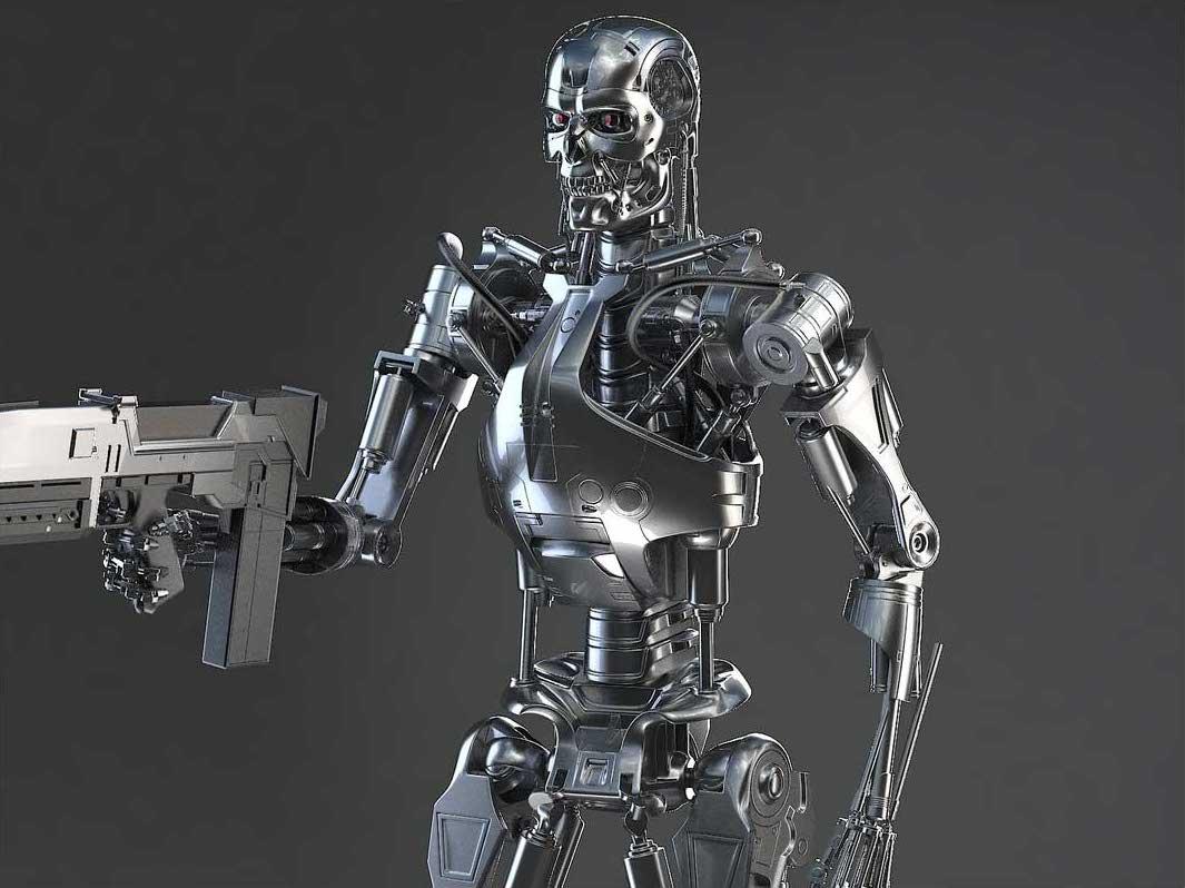 Animated AR Terminator Character 4