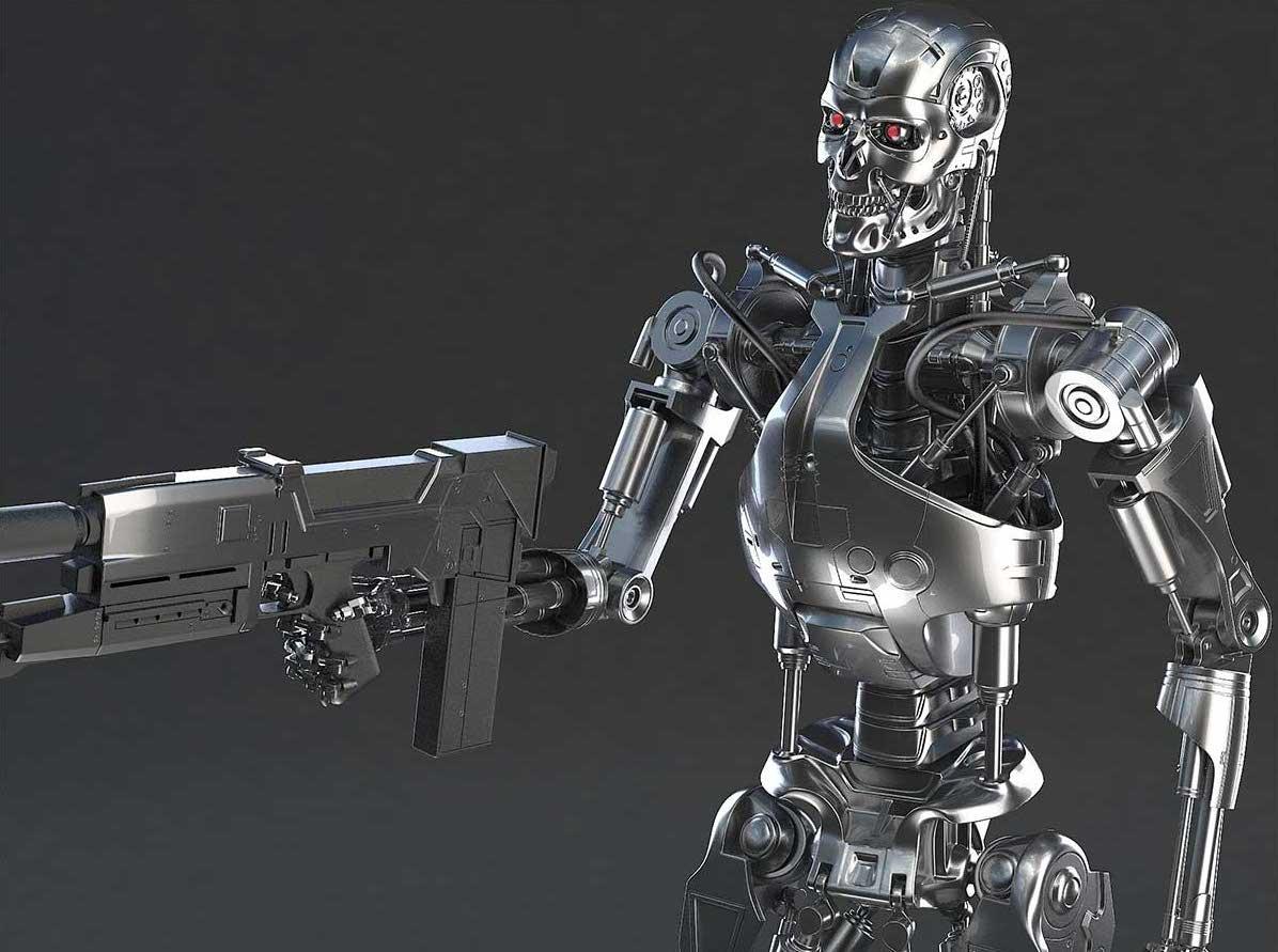 Animated AR Terminator Character 2