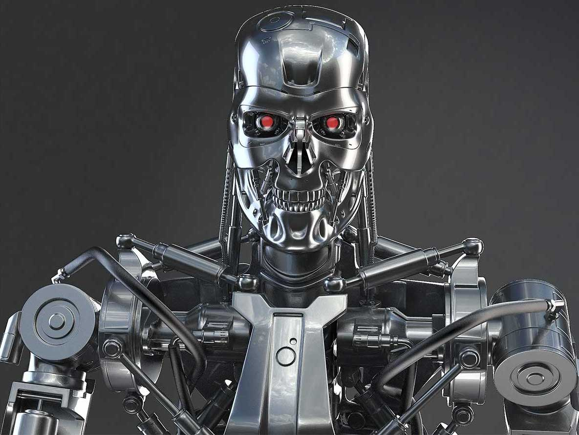 Animated AR Terminator Character 1