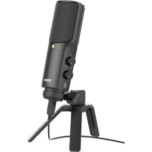 Rhode Microphone for Zoom Webcasting Teleprompter