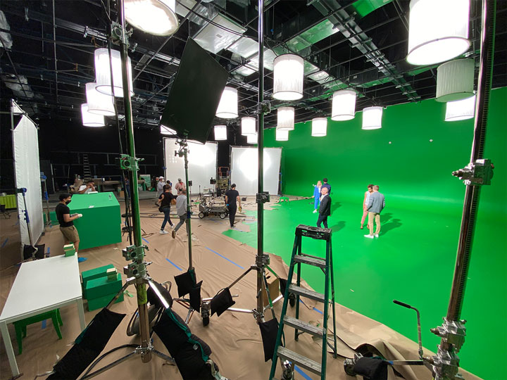 Brooklyn Green Screen stages