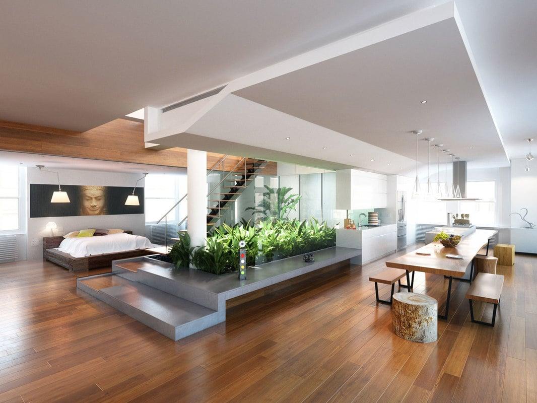 Virtual Set Living Room High Tech
