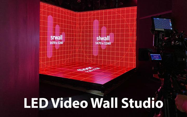 LED Video Wall Studio Rental