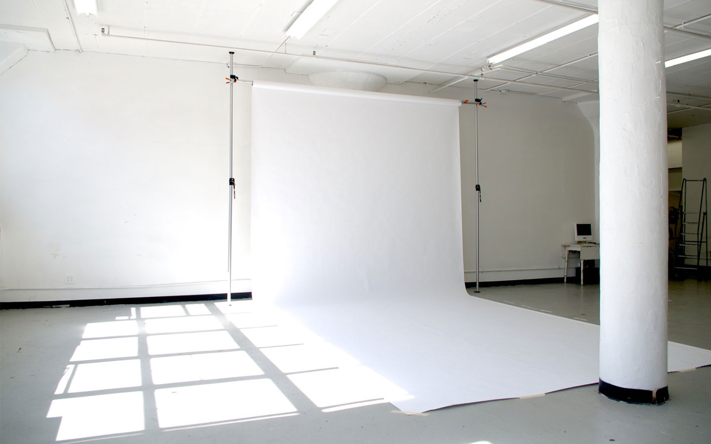 Long Island City studios White cyc