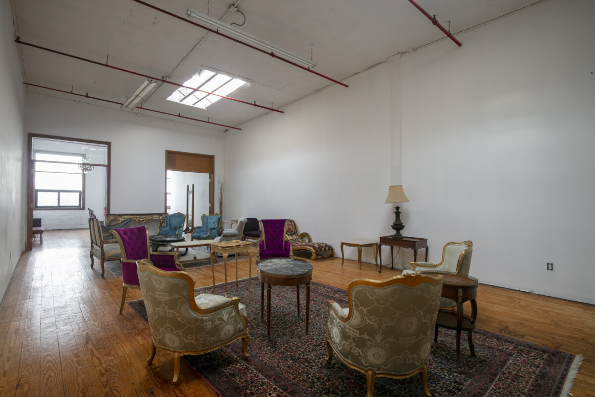 Event space furnished Brooklyn