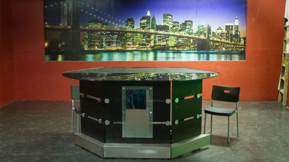 New Jersey Green Screen Studio BroadCasting / News Desk- WebCasting