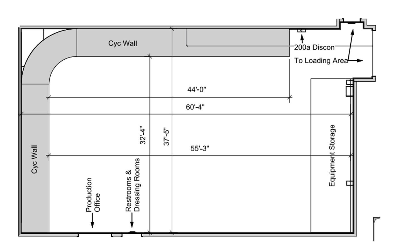 Boston Drive -In Studios Floorplan