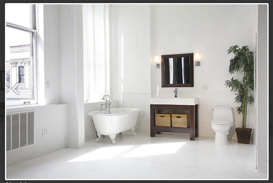 Large NYC Shoot-In Bathroom