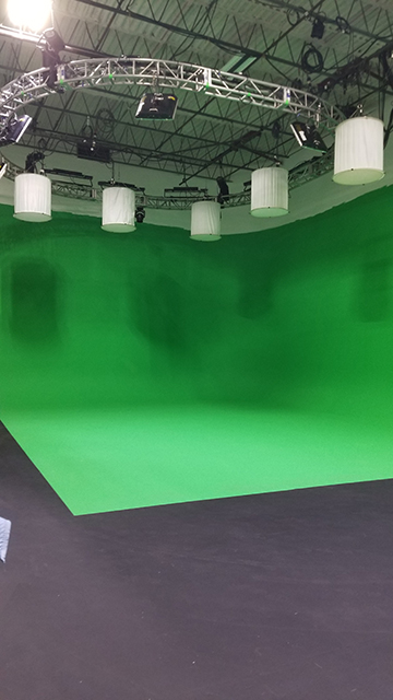 Boston Green Screen Stage