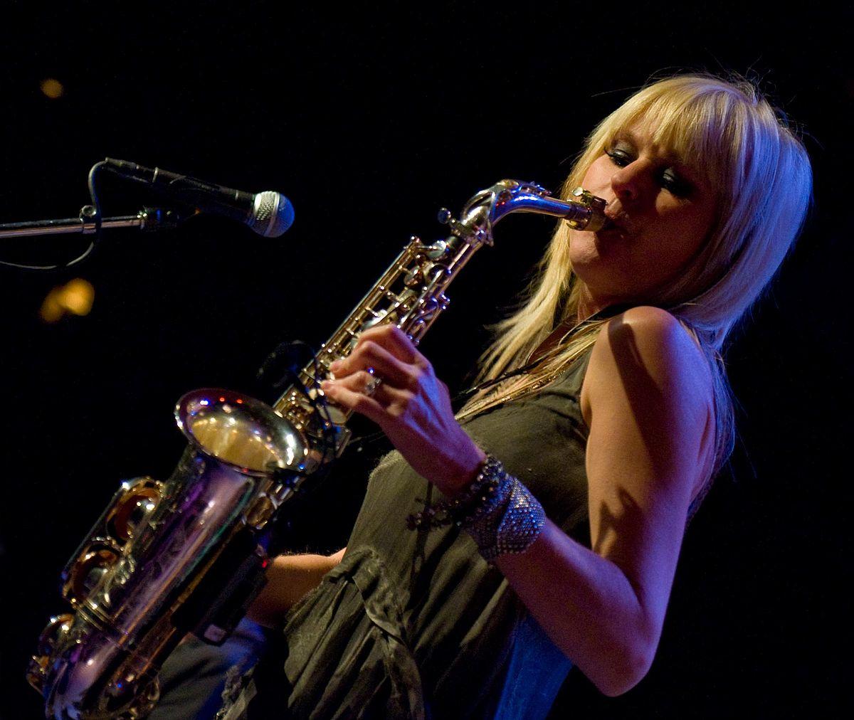 Blonde Sax Player