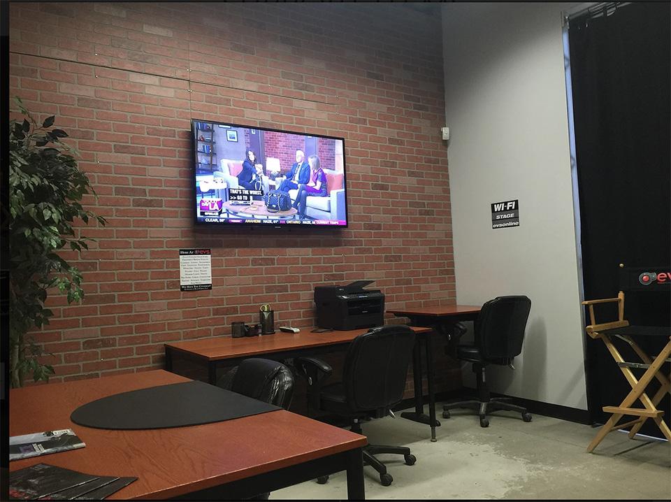 Victory Studios Green Room