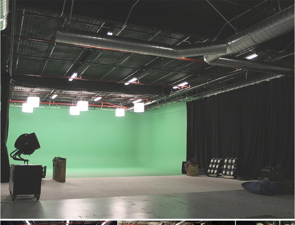 Victory Studios LA Three Wall Green Screen Studio