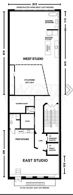 Best Shoot-In Kitchen Floorplan