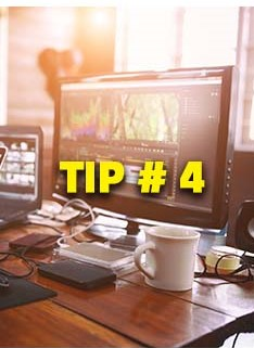 inematography Tip # 4, Editing Desktop Computer with software