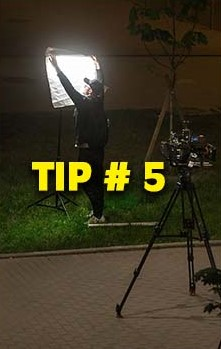 Cinmatography Tip # 5, A DP Sets the lighting