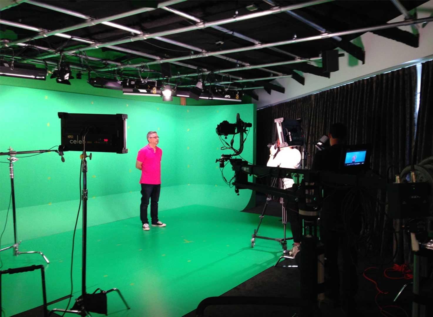 North Jersey Green cyc Studio