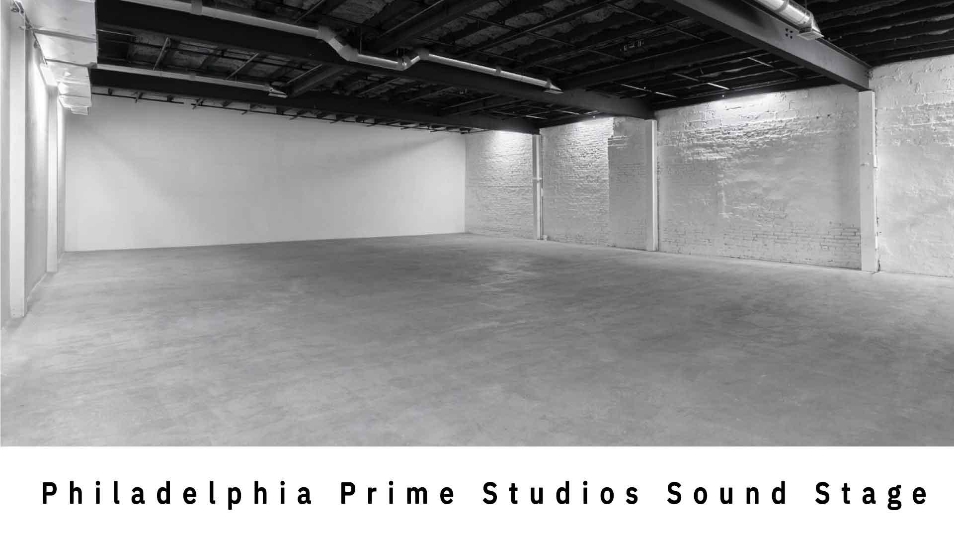 Philadelphia Prime Studios Sound Stage