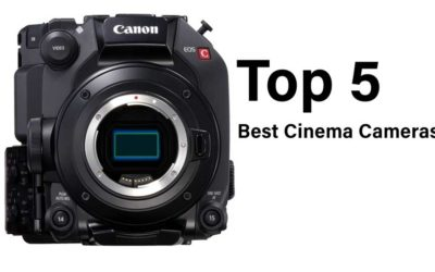 The Top 5 Best Cinema Cameras of the Year