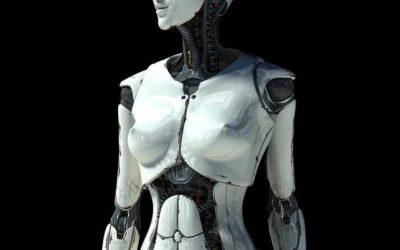 Animated AR Cyborg