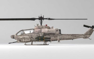 Animated AR Helicopter