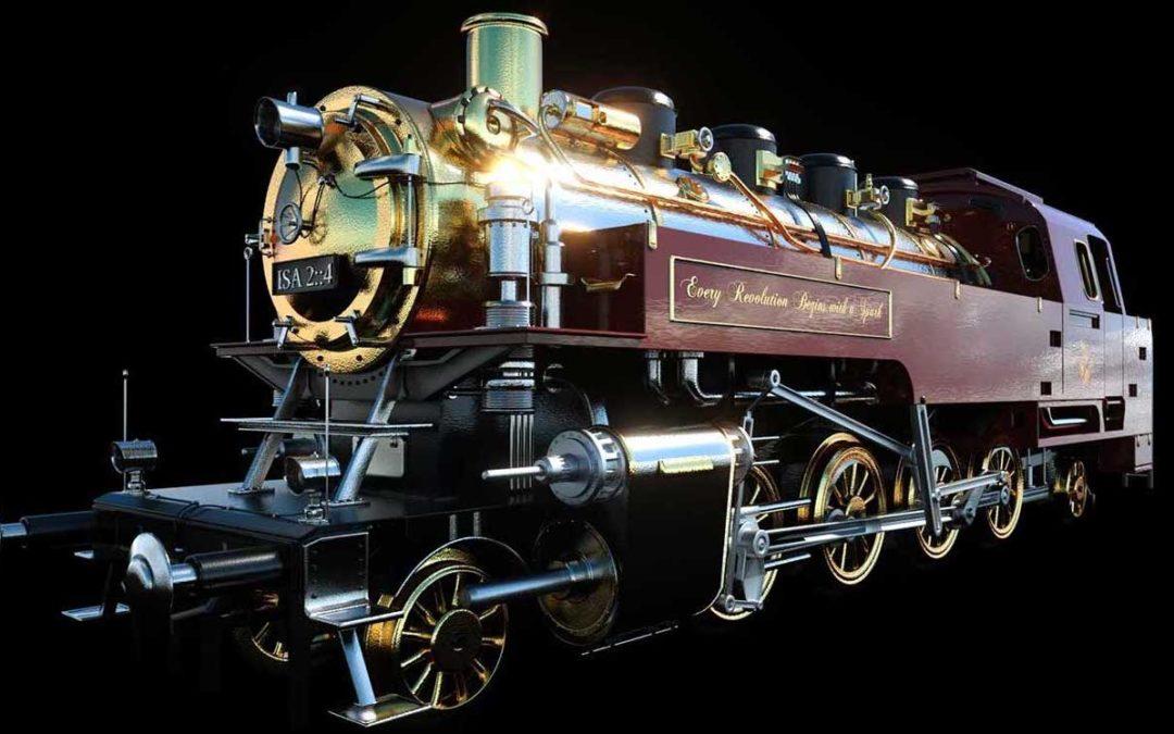 Animated AR Locomotive