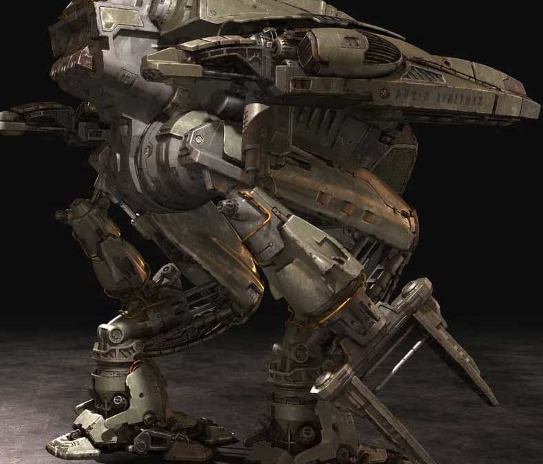 Animated AR Mechanical Robots
