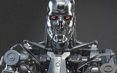 Animated AR Terminator Character