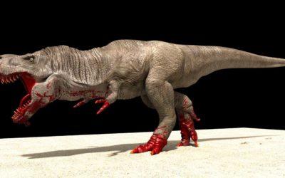 Animated AR T-Rex
